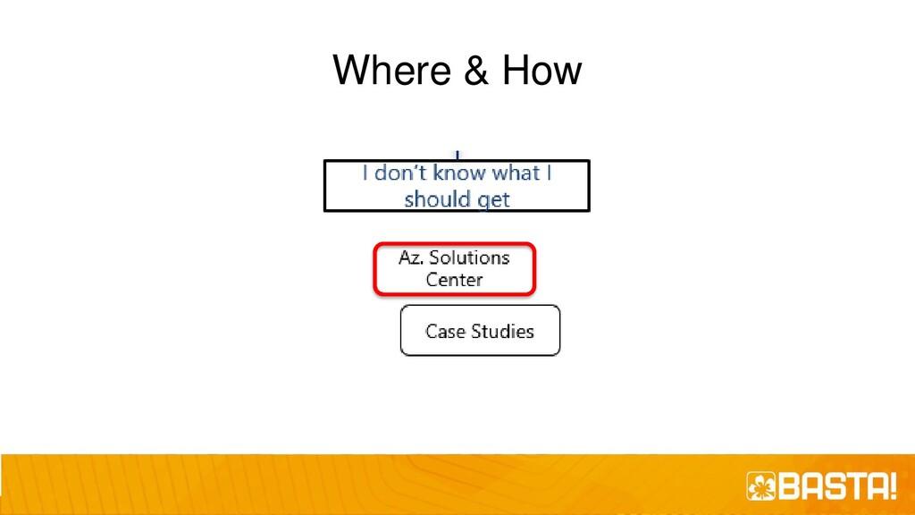 Where & How