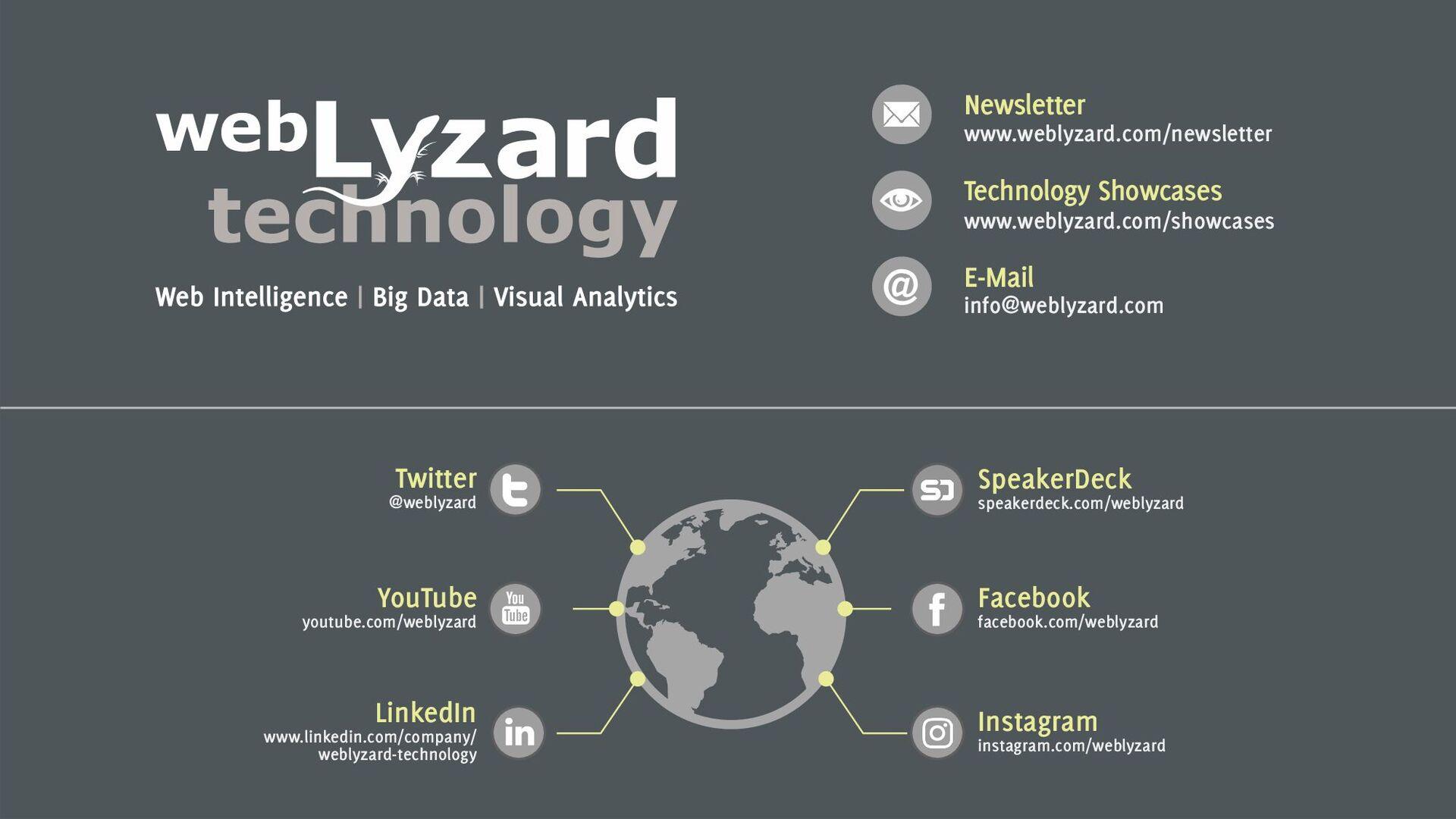 24 Newsletter www.weblyzard.com/newsletter Tech...