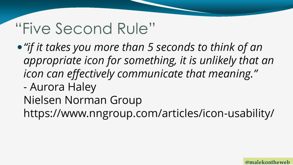 "@malekontheweb ""Five Second Rule"" ""if it takes..."