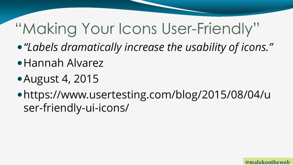 "@malekontheweb ""Making Your Icons User-Friendly..."