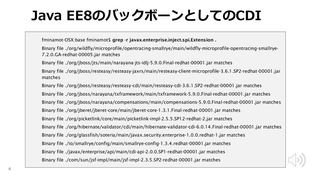 fminamot-OSX:base fminamot$ grep -r javax.enter...