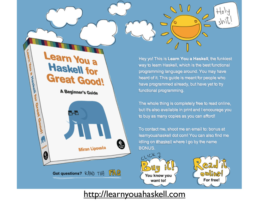 http://learnyouahaskell.com