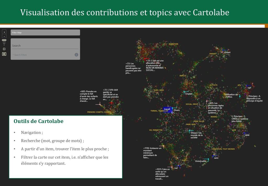 15 Options de Cartolabe • Naviguer en (dé)zooma...
