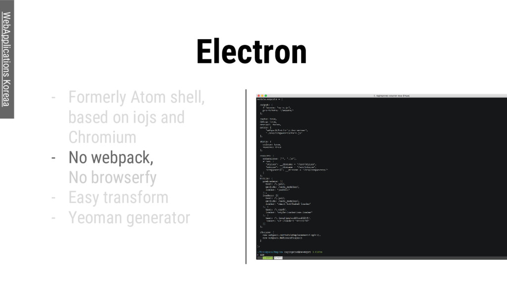 Electron - Formerly Atom shell, based on iojs a...