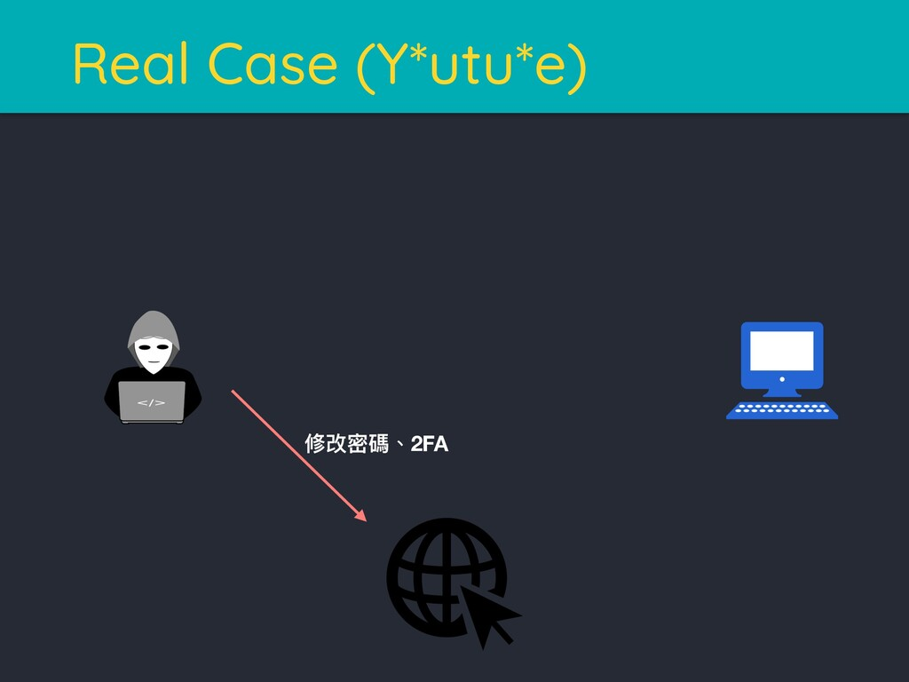 Real Case (Y*utu*e) 狕硬ੂ嘨牏2FA