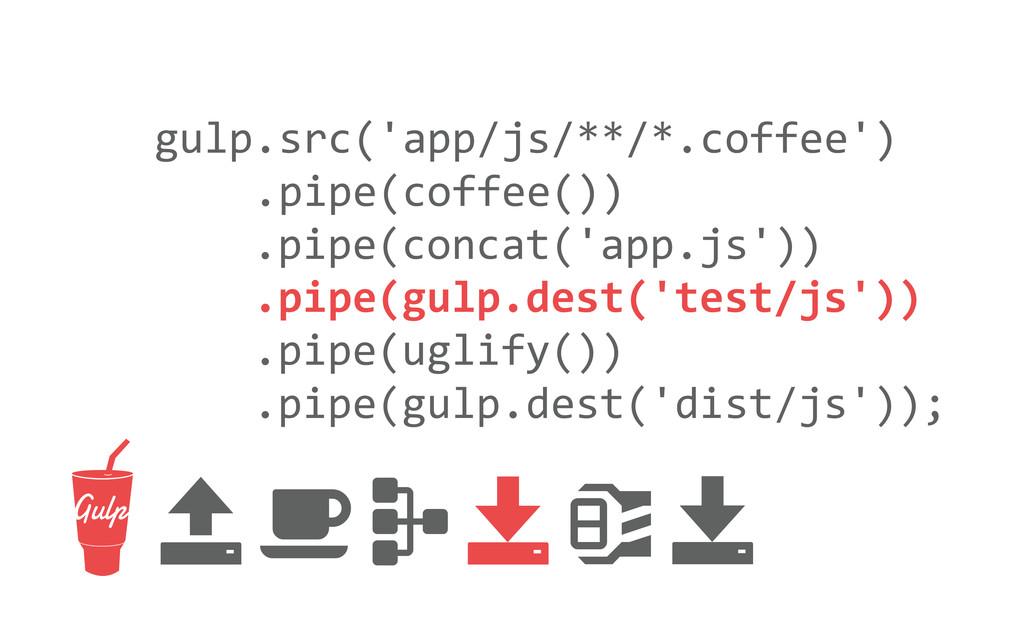 gulp.src('app/js/**/*.coffee')     ...