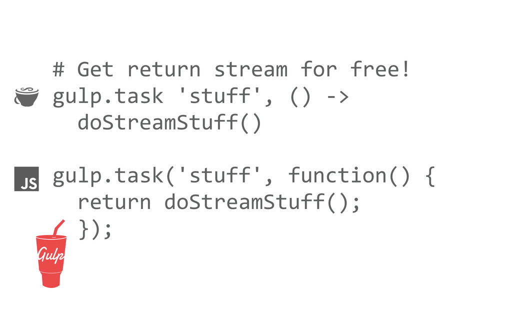 # Get return stream for free! gu...