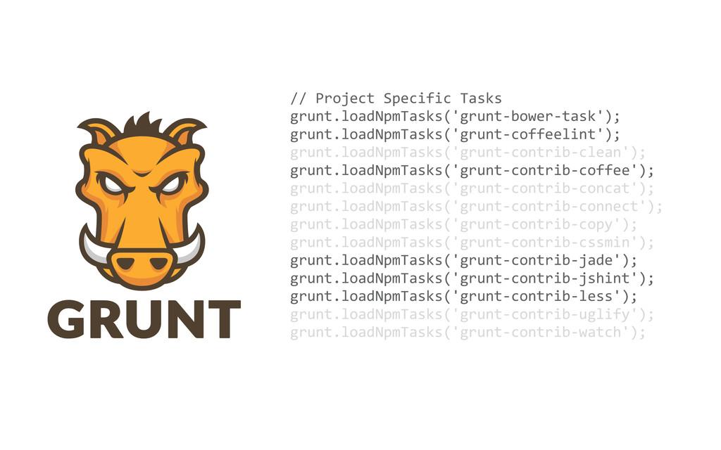 // Project Specific Tasks grunt.loadNp...