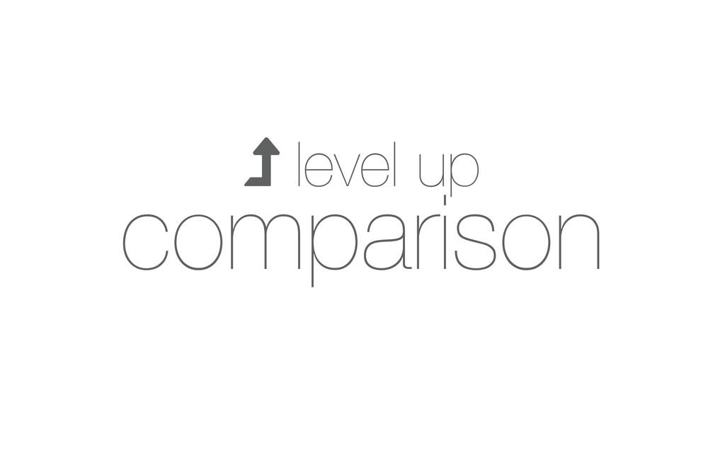  level up comparison