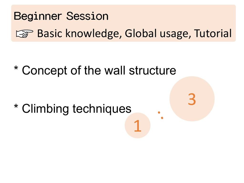 Beginner Session Basic knowledge, Global usage,...