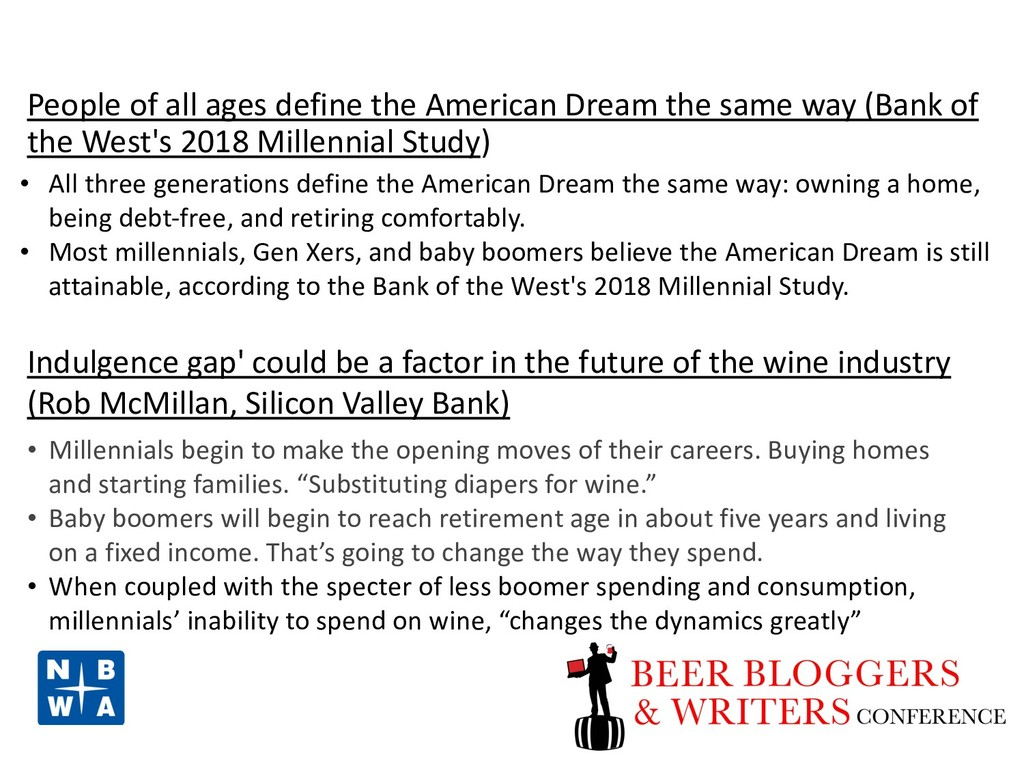 People of all ages define the American Dream th...