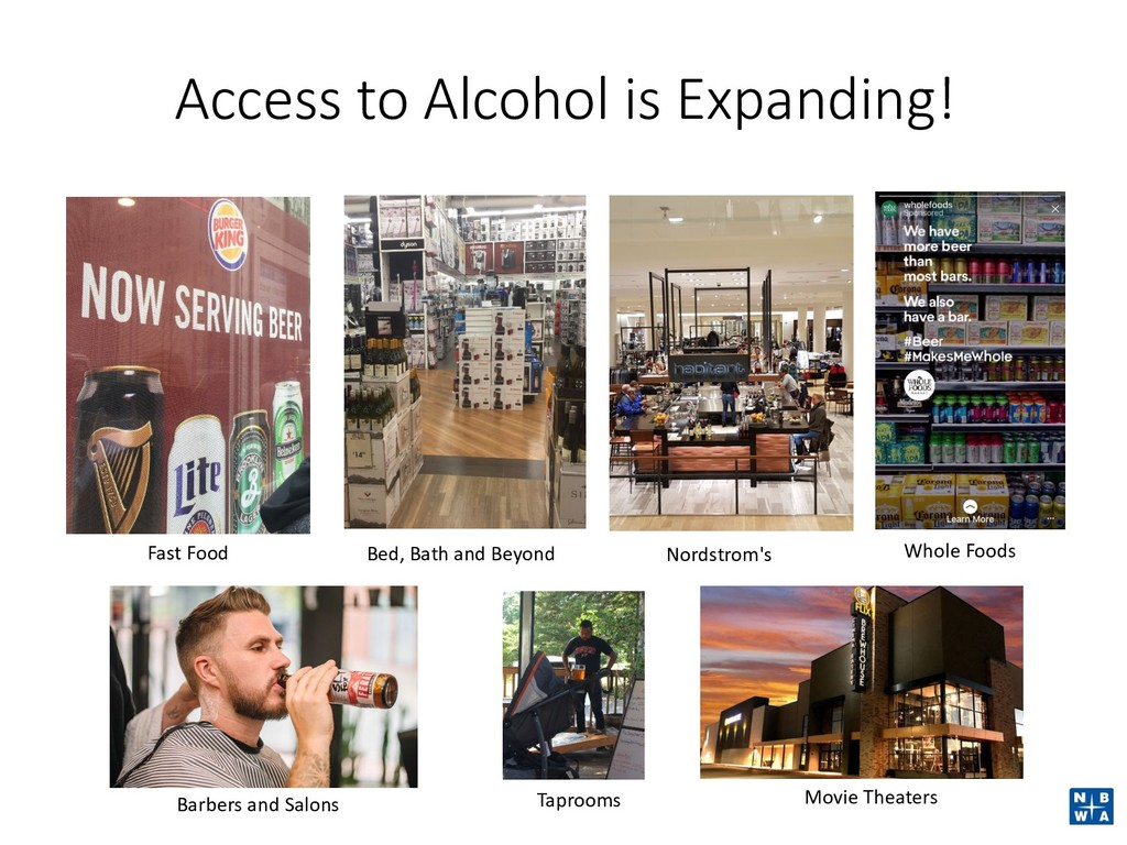 Access to Alcohol is Expanding! Fast Food Nords...