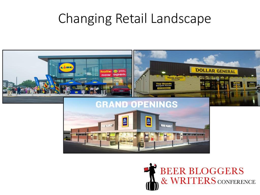 Changing Retail Landscape