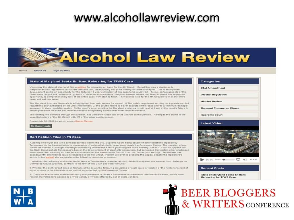 www.alcohollawreview.com