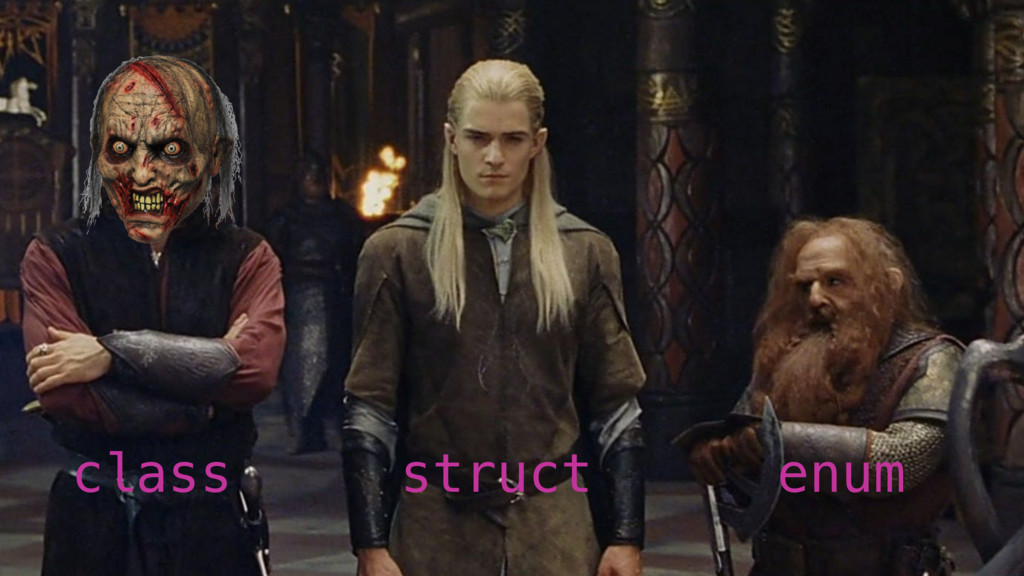 class struct enum