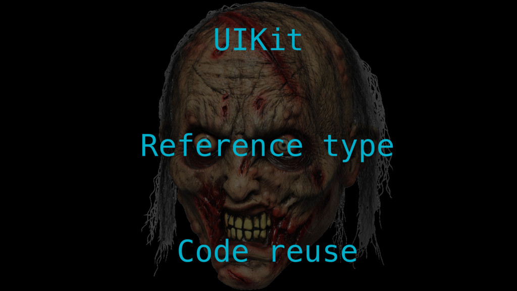 UIKit Reference type Code reuse