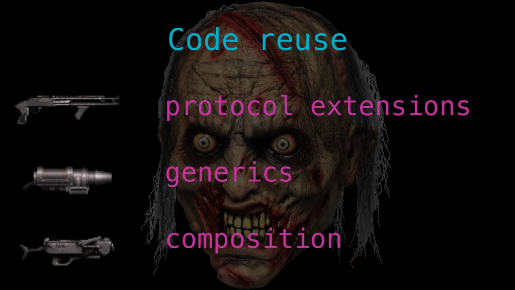 composition generics protocol extensions Code r...