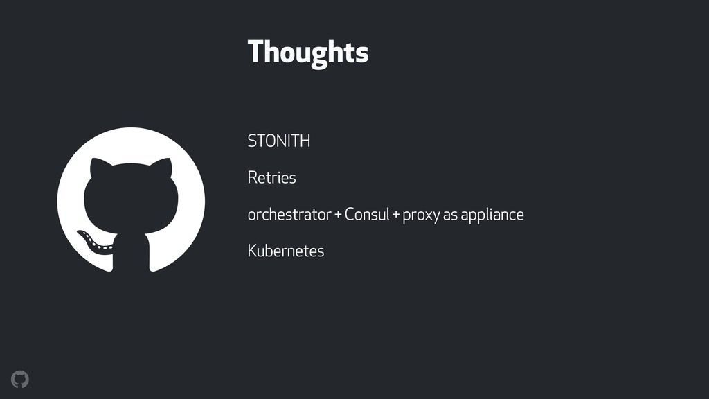 Thoughts STONITH Retries orchestrator + Consul ...