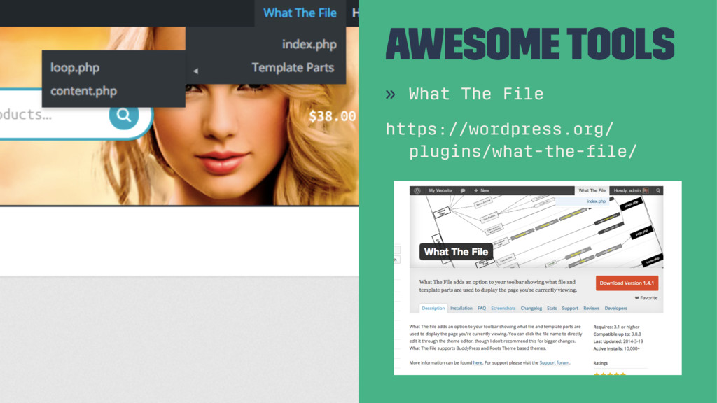 Awesome Tools » What The File https://wordpress...