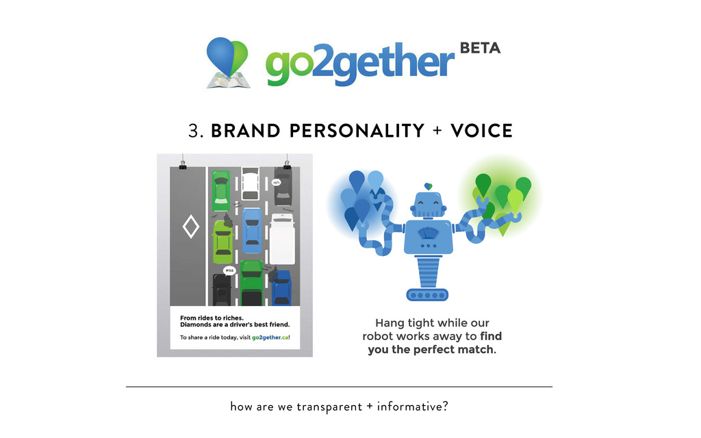 how are we transparent + informative? 3. BRAND ...