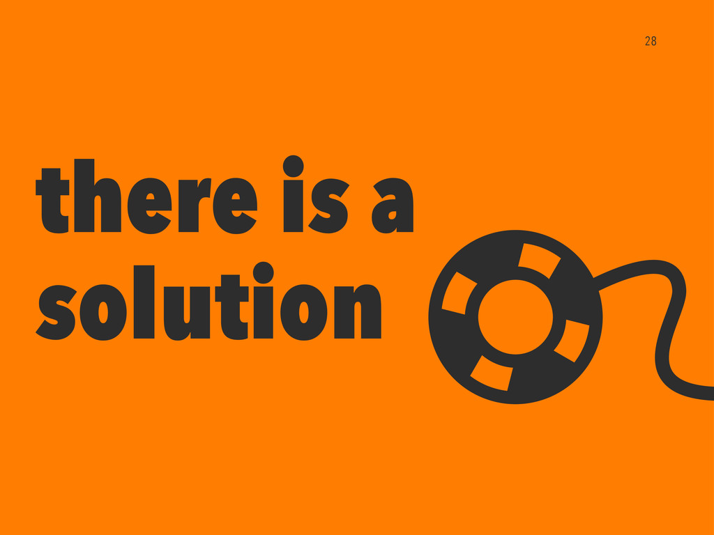 there is a solution 28