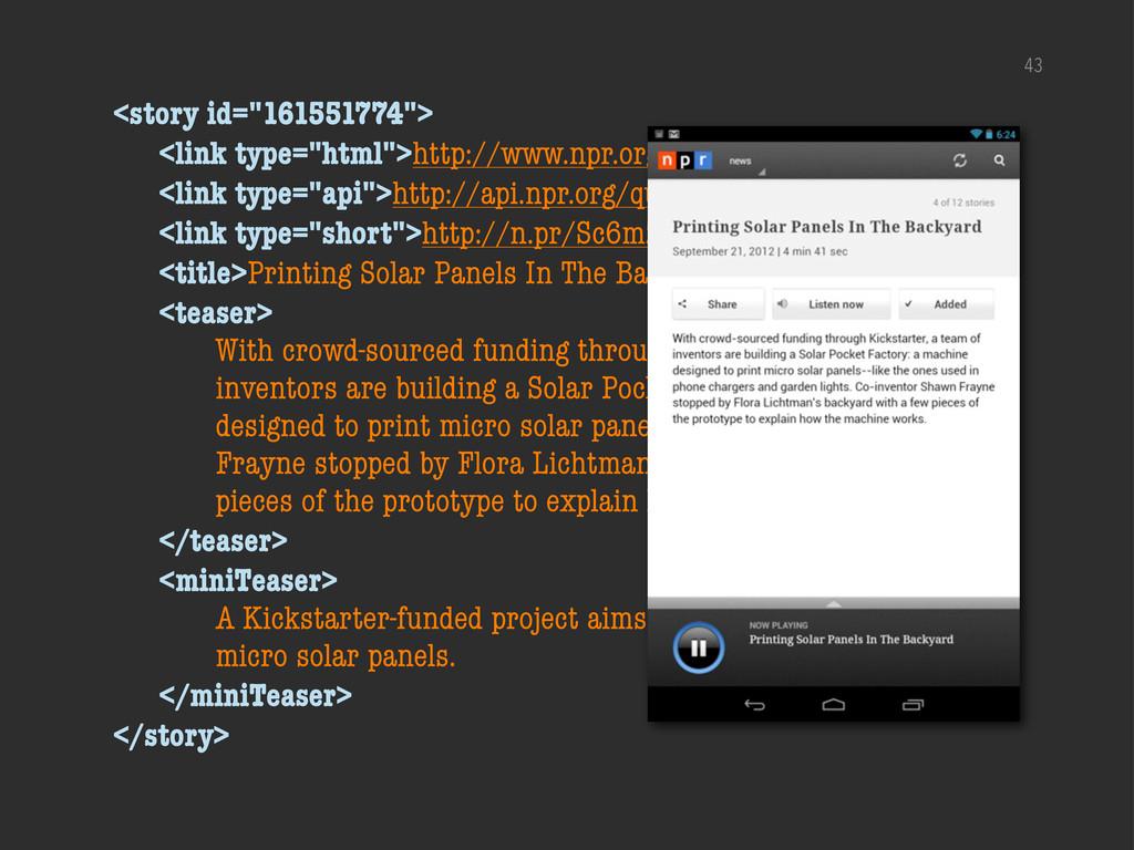 "43 <story id=""161551774""> <link type=""html"">htt..."