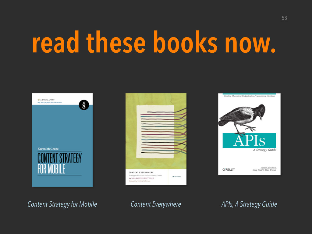58 read these books now. Content Everywhere Con...