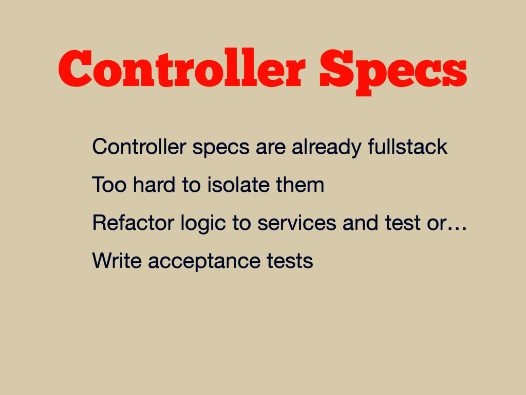 Controller Specs Controller specs are already f...