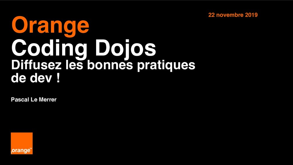 Interne Orange 1 Orange Coding Dojos Diffusez...