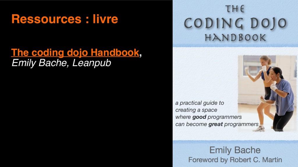 13 Ressources : livre  The coding dojo Handboo...
