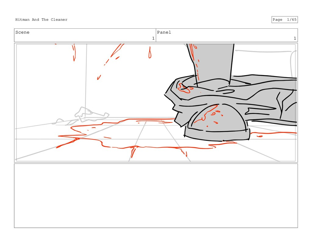 Scene 1 Panel 1 Hitman And The Cleaner Page 1/65