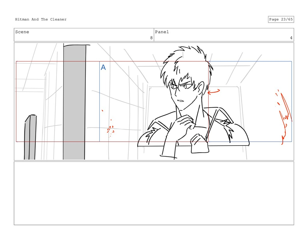 Scene 8 Panel 4 Hitman And The Cleaner Page 23/...