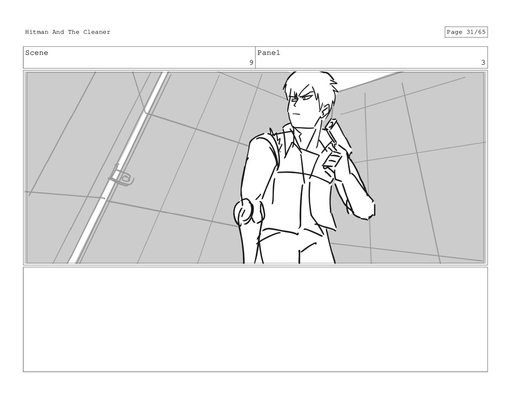 Scene 9 Panel 3 Hitman And The Cleaner Page 31/...