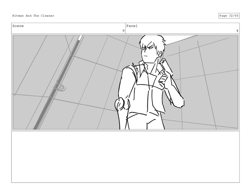 Scene 9 Panel 4 Hitman And The Cleaner Page 32/...