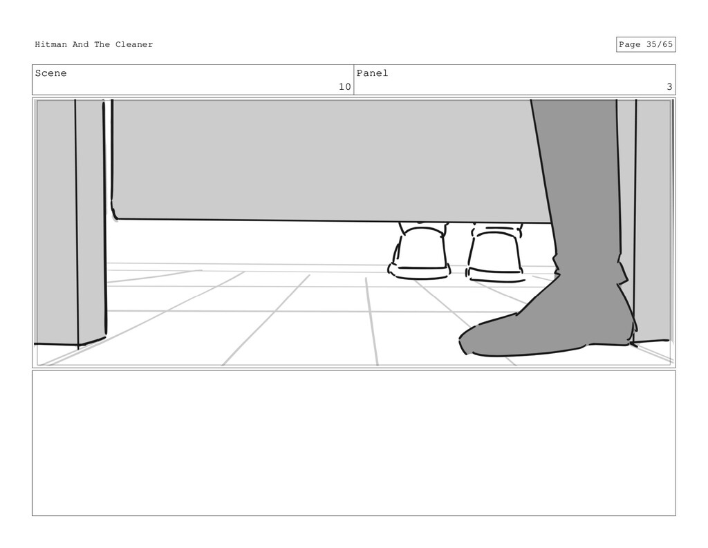 Scene 10 Panel 3 Hitman And The Cleaner Page 35...