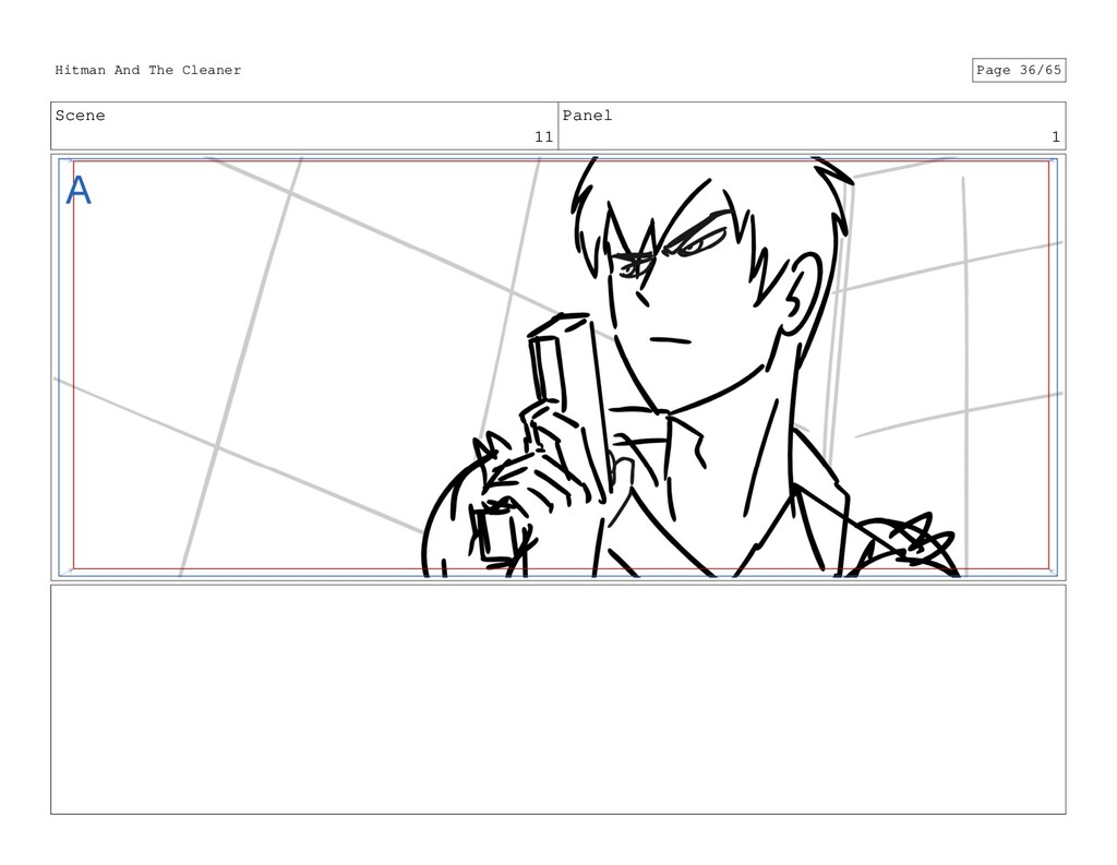 Scene 11 Panel 1 Hitman And The Cleaner Page 36...