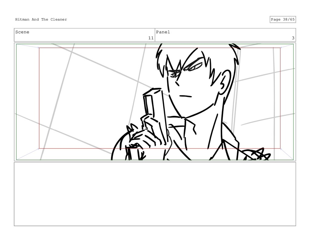 Scene 11 Panel 3 Hitman And The Cleaner Page 38...