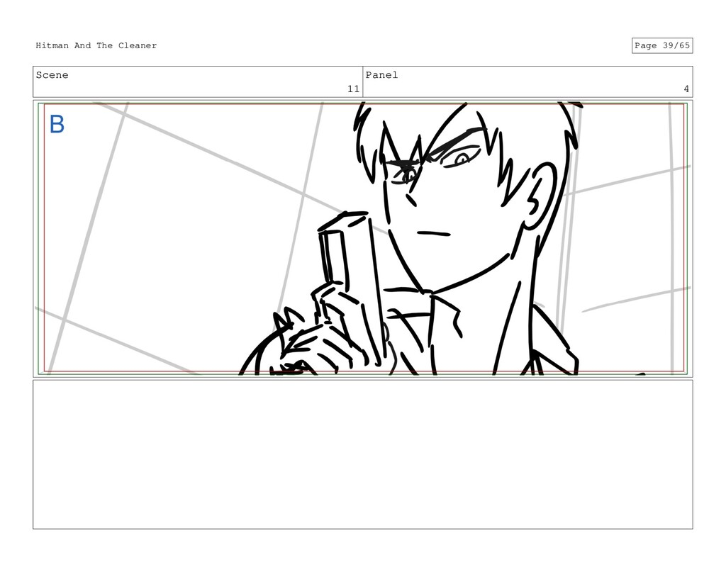 Scene 11 Panel 4 Hitman And The Cleaner Page 39...