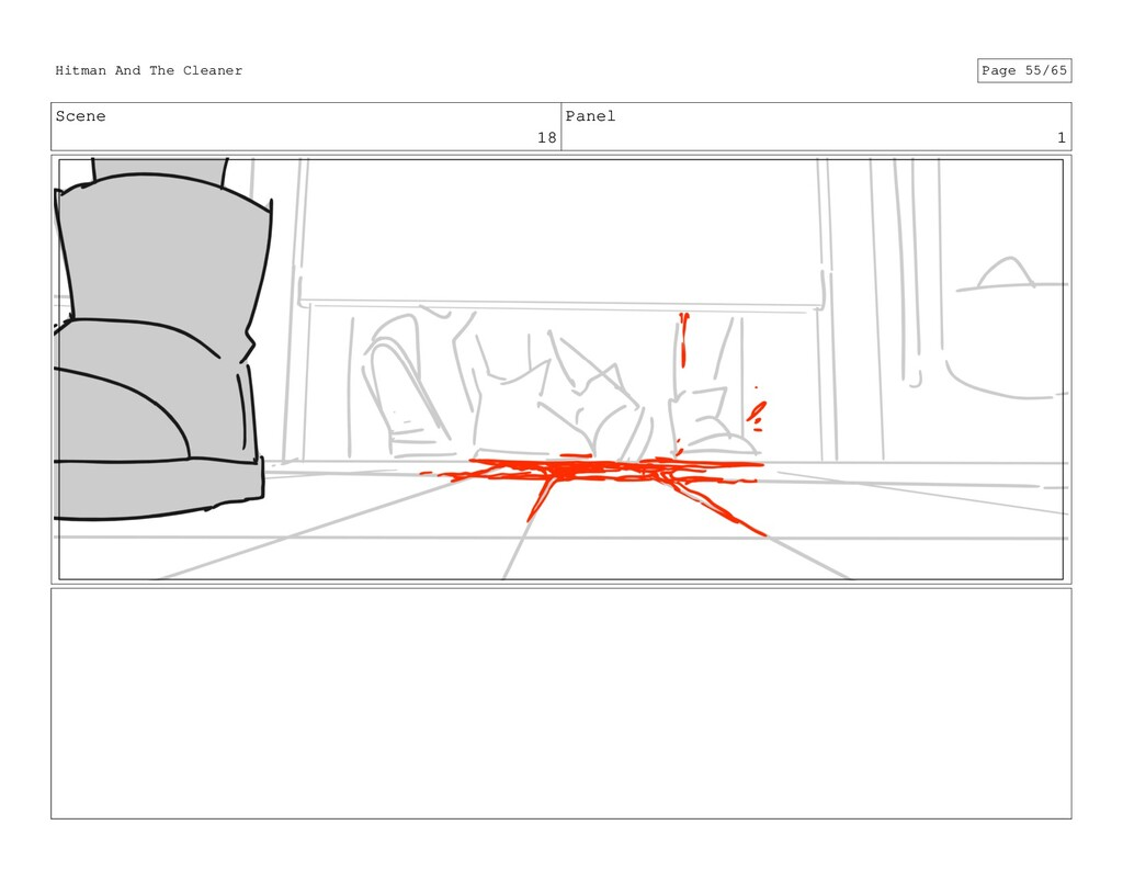 Scene 18 Panel 1 Hitman And The Cleaner Page 55...