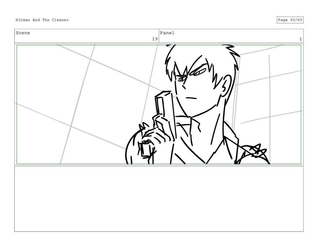Scene 19 Panel 1 Hitman And The Cleaner Page 63...