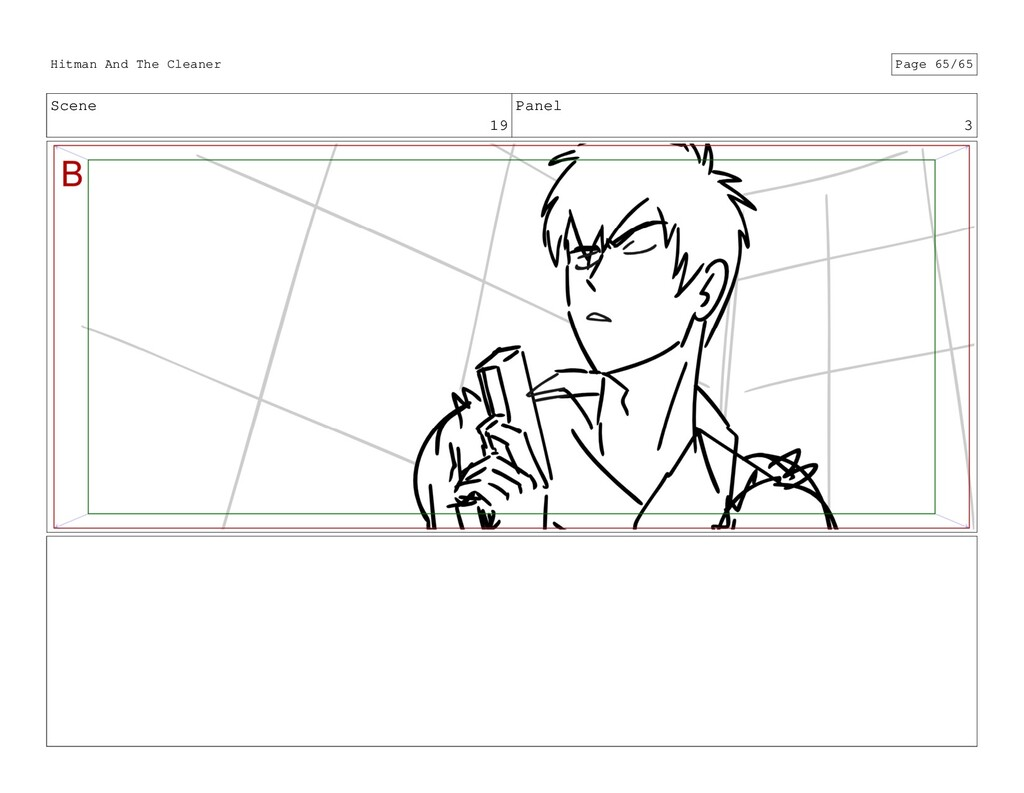 Scene 19 Panel 3 Hitman And The Cleaner Page 65...