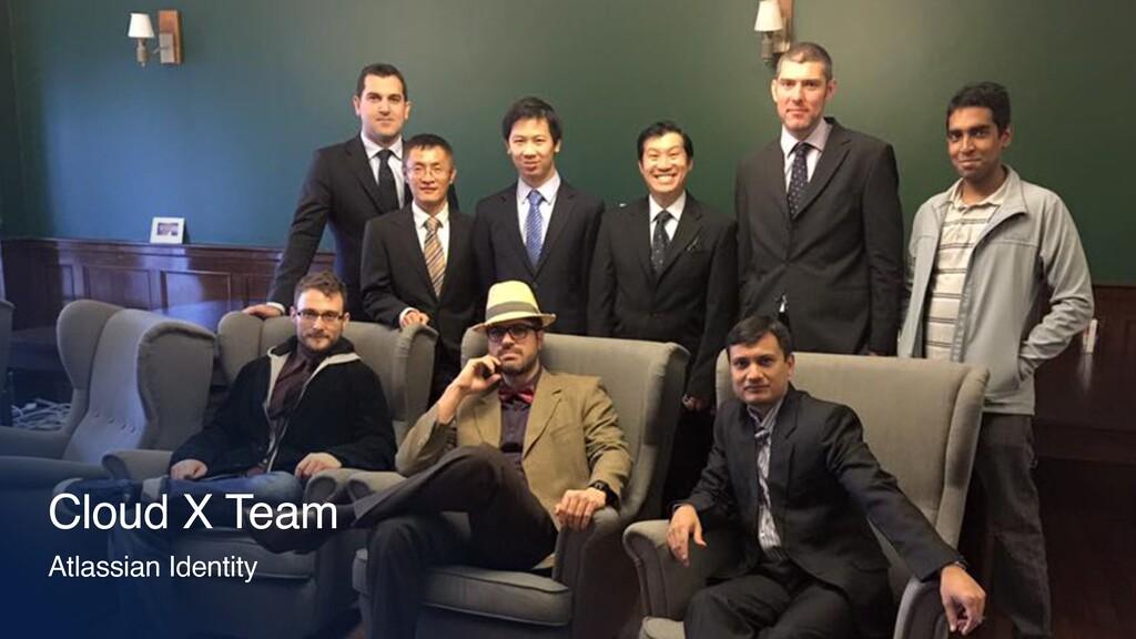 Cloud X Team Atlassian Identity