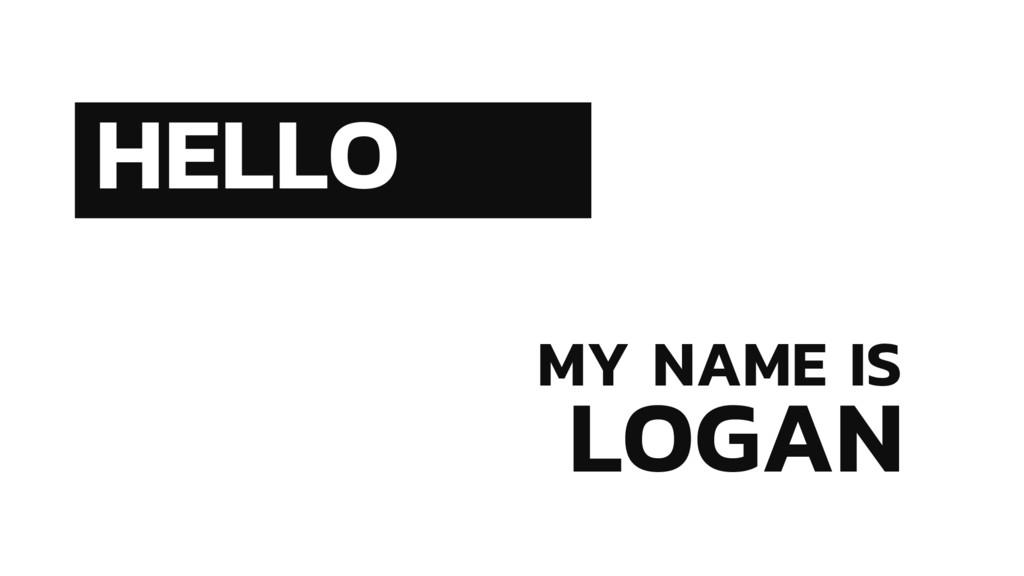 LOGAN HELLO MY NAME IS