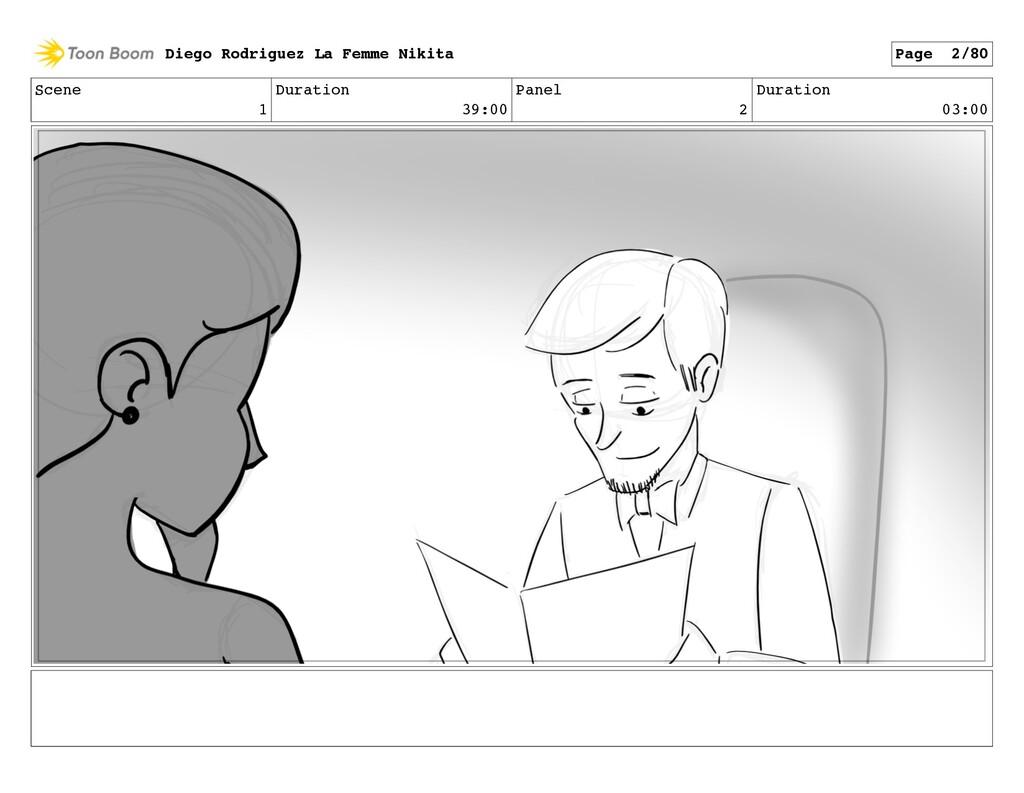 Scene 1 Duration 39:00 Panel 2 Duration 03:00 D...