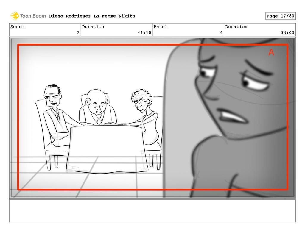 Scene 2 Duration 41:10 Panel 4 Duration 03:00 D...