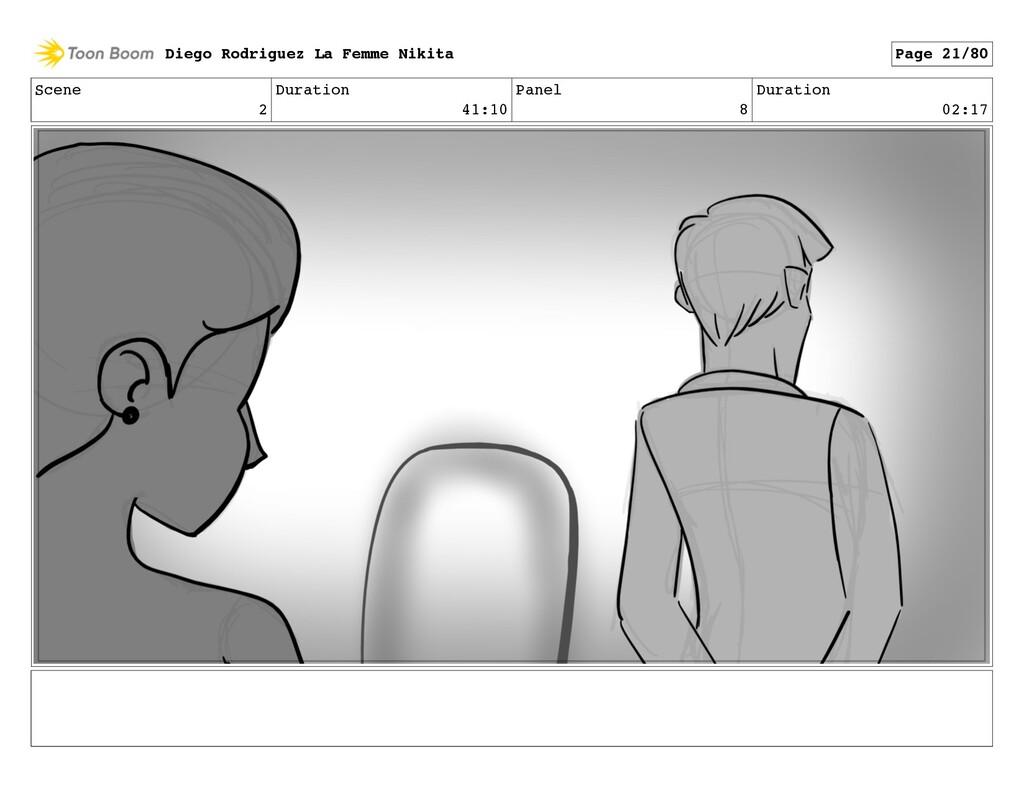 Scene 2 Duration 41:10 Panel 8 Duration 02:17 D...