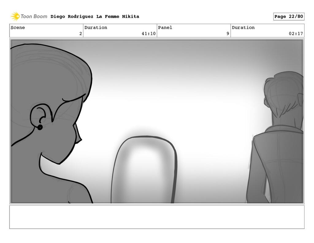 Scene 2 Duration 41:10 Panel 9 Duration 02:17 D...