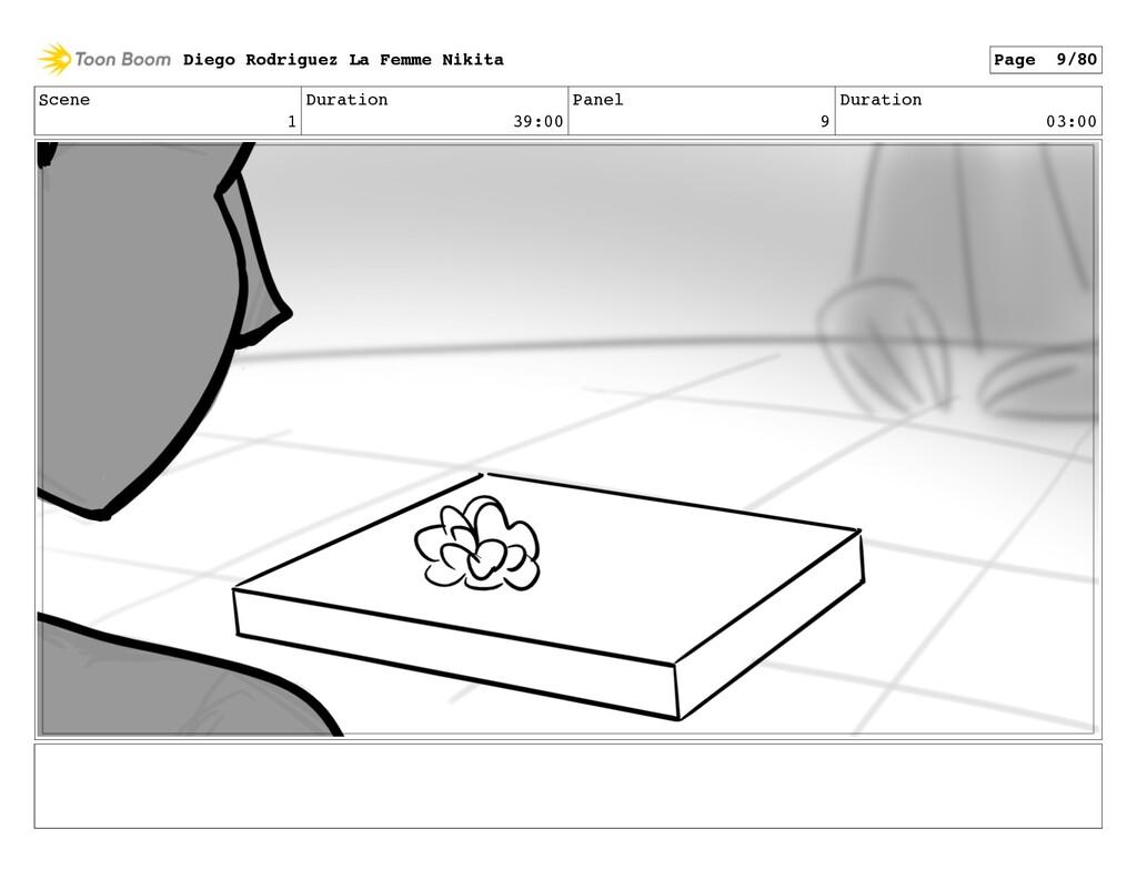 Scene 1 Duration 39:00 Panel 9 Duration 03:00 D...