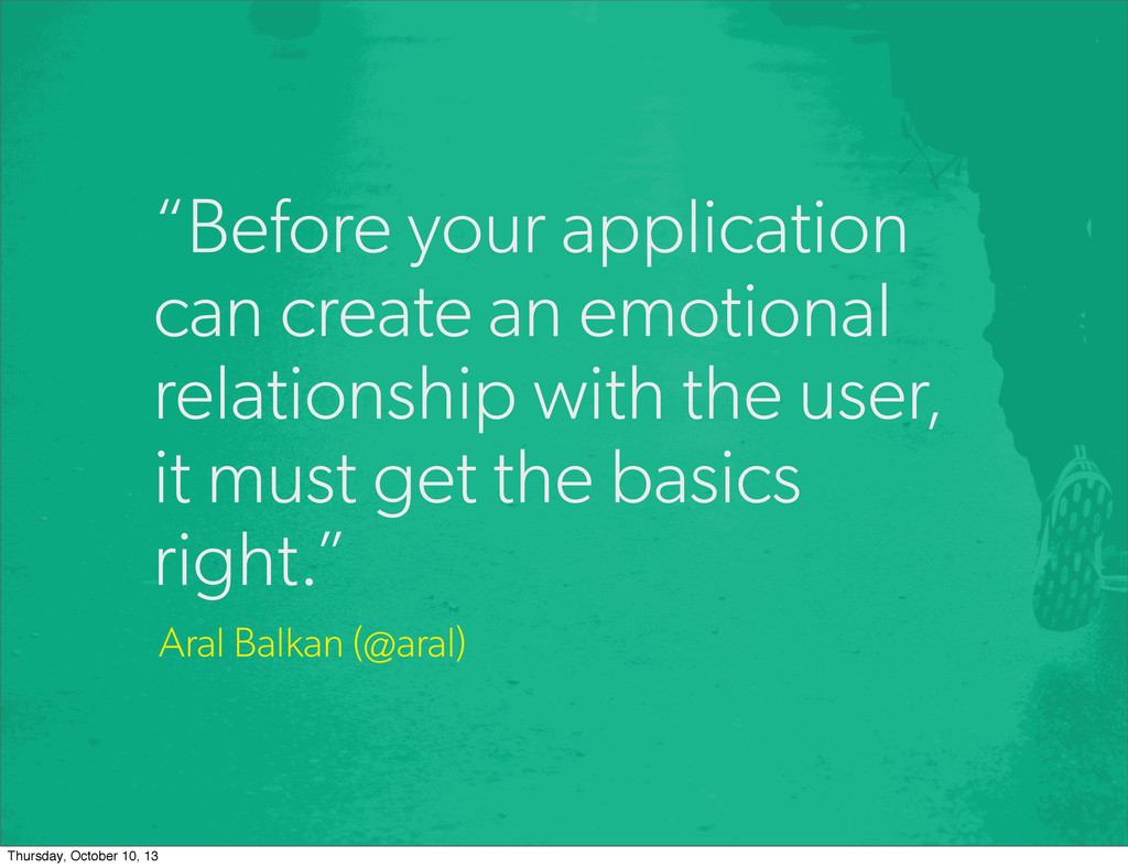 """Before your application can create an emotiona..."