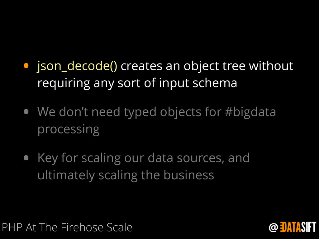 @ • json_decode() creates an object tree withou...